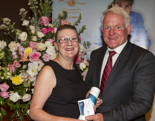 Christine Jordan - 2013 recipient
