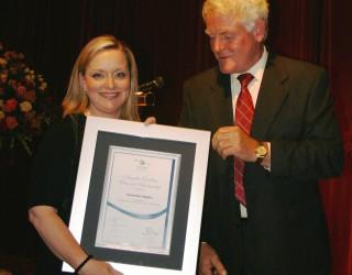 Samantha Higgins - 2011 recipient